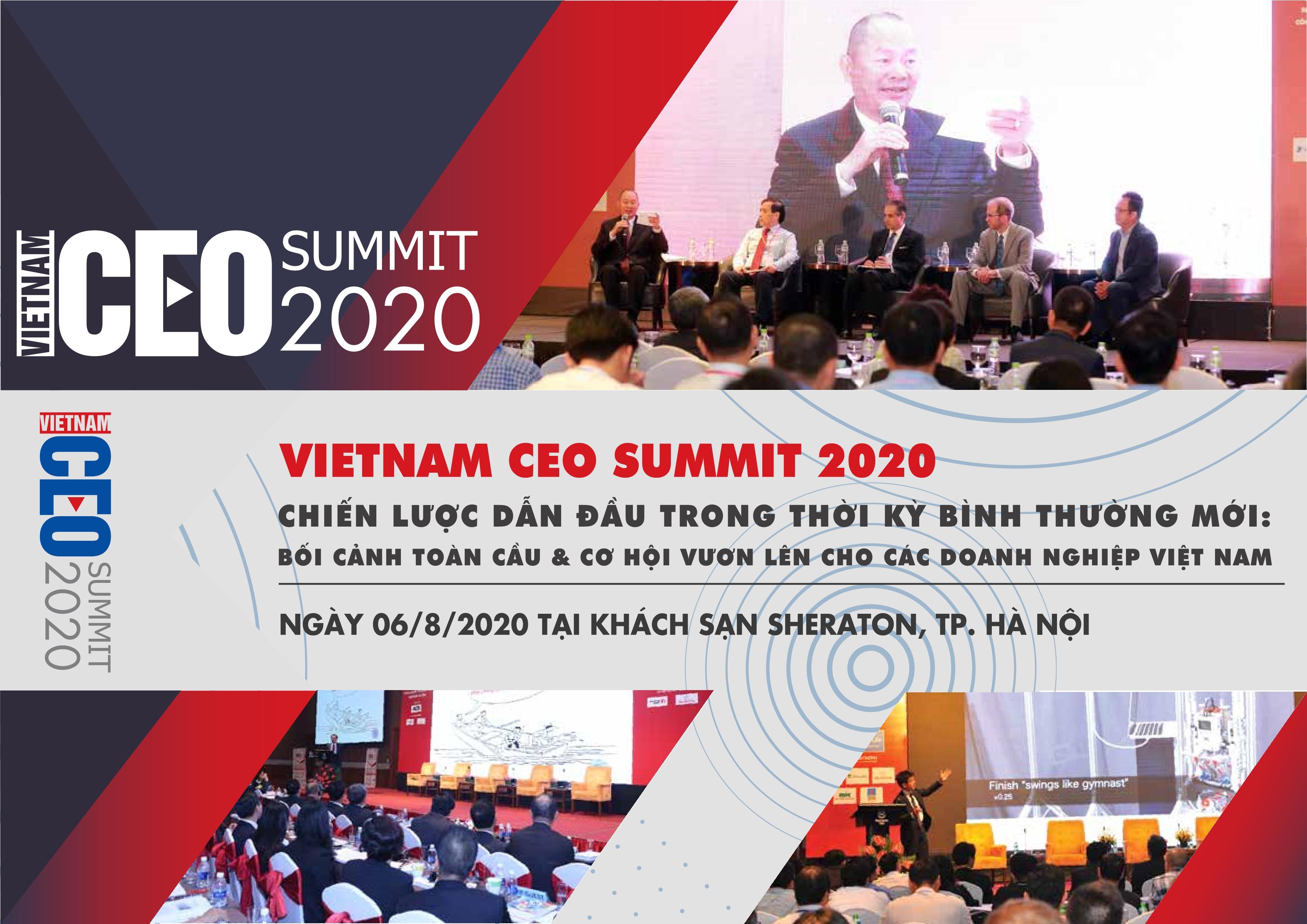 Hội nghị Vietnam CEO Summit 2020