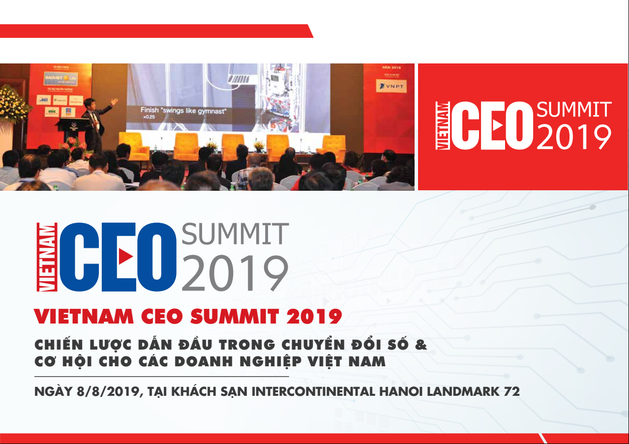 VIETNAM CEO SUMMIT 2019
