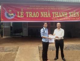 THACO trao nhà thanh niên tại huyện Cẩm Mỹ, Đồng Nai