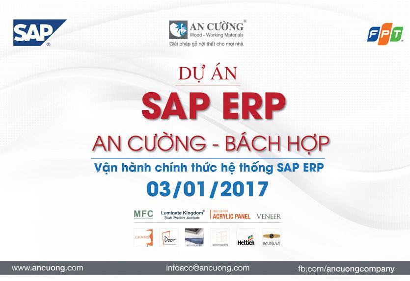 Go-live thành công hệ thống SAP-ERP cho Gỗ An Cường