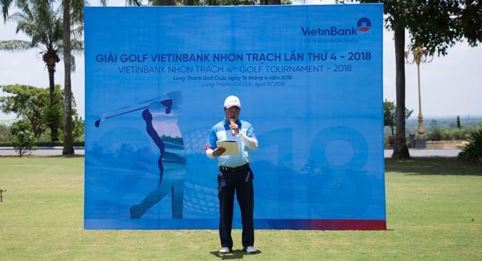 Tôn Phương Nam tham dự giải Golf lần 4 - 2018 do Vietinbank Nhơn Trạch tổ chức