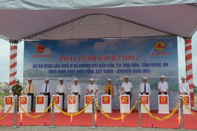 Thông tin báo chí: Lễ khởi công xây dựng cầu Hiếu 2 và đường hai đầu cầu tại Nghệ An