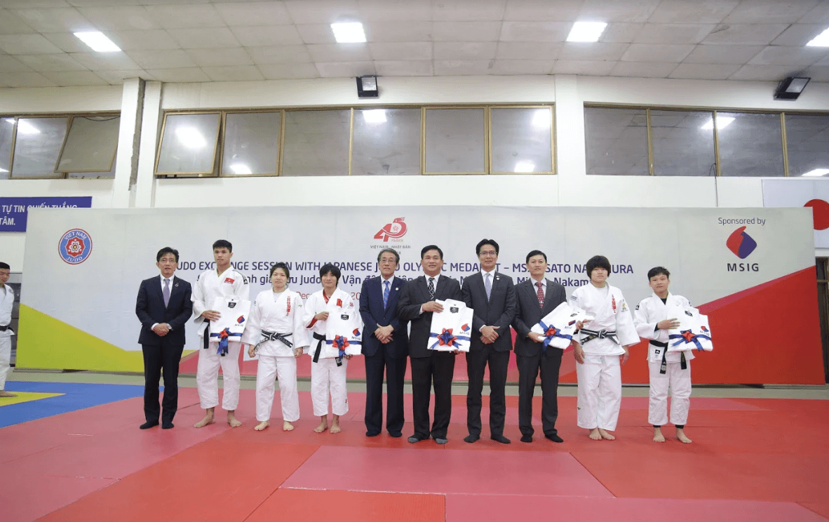 MSIG Việt Nam mang niềm tự hào Judo Nhật Bản - Misato Nakamura - đến Việt Nam