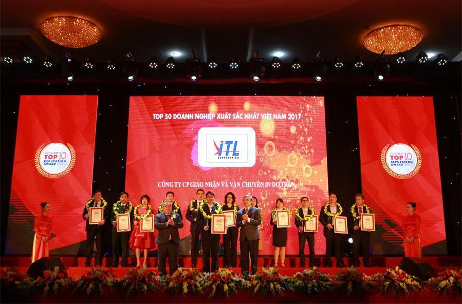 ITL được bầu chọn trong BXH VNR500 Và Top 50 Doanh Nghiệp Xuất Sắc Nhất Việt Nam 2018