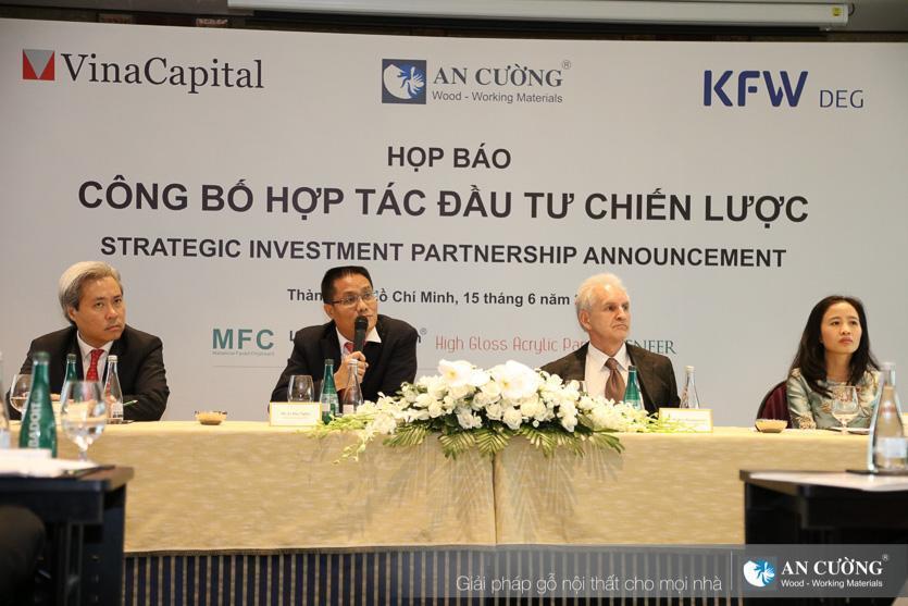 Đầu tư chiến lược giữa Vinacapital, DEG và Công ty Gỗ An Cường