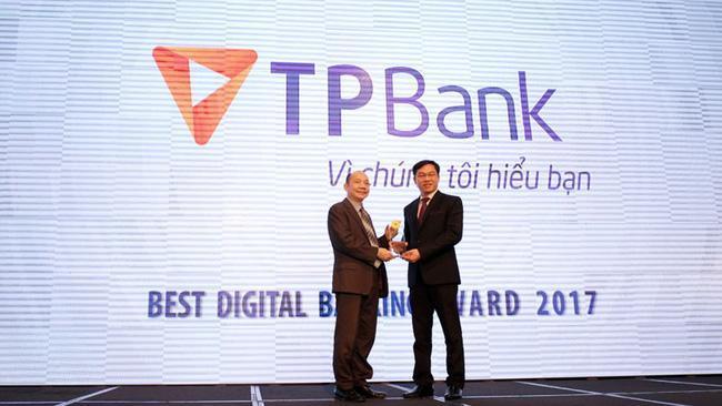 TPBank là Ngân hàng số xuất sắc nhất 2017