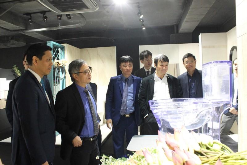 Viglacera ra mắt thương hiệu Viglacera Platinum và giới thiệu Eurotile Center tại Hà Nội