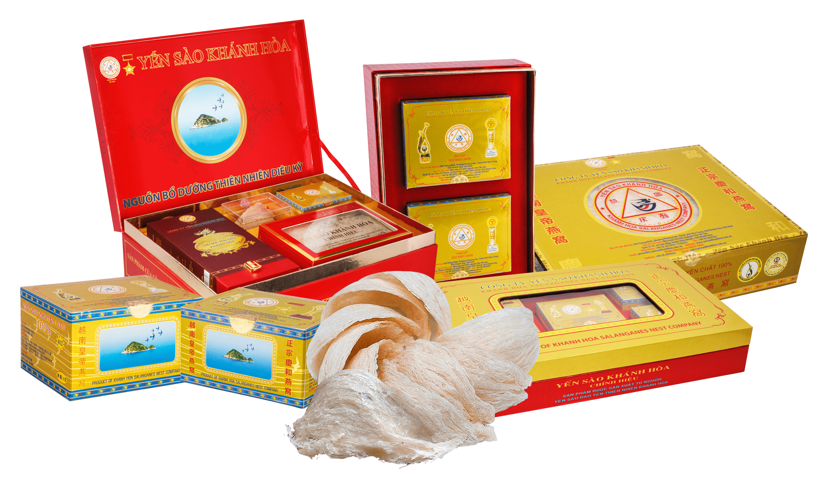 """Yến sào Khánh Hòa nhận giải thưởng """"Sản phẩm vàng vì sức khỏe cộng đồng năm 2020"""""""