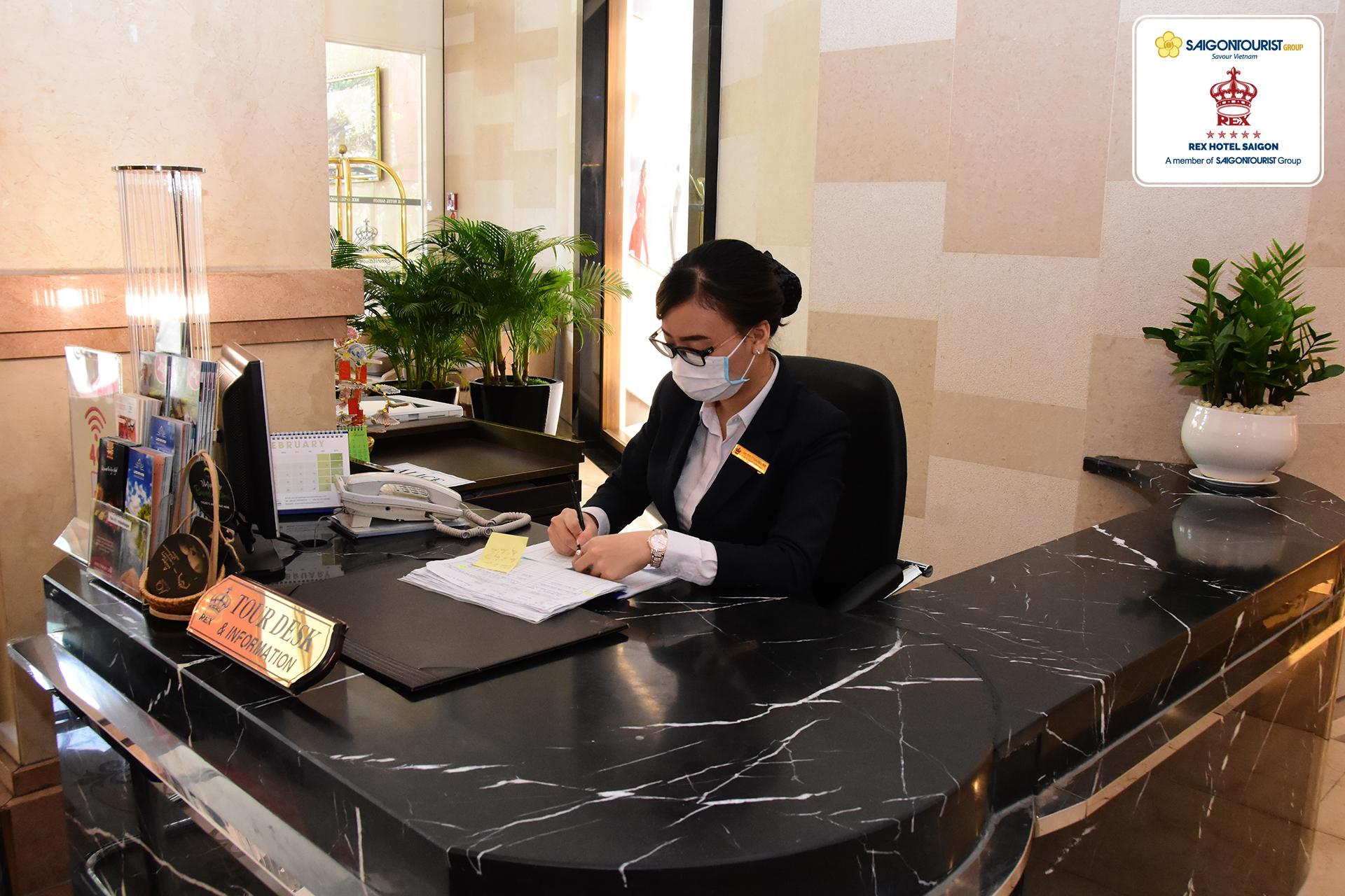 Khách sạn REX Saigon tiếp tục tăng cường các biện pháp phòng chống trong mùa dịch