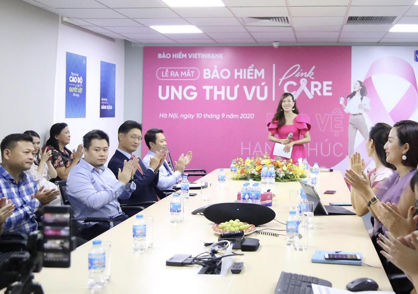 VBI Ra Mắt Bảo Hiểm Ung Thư Vú - Pinkcare