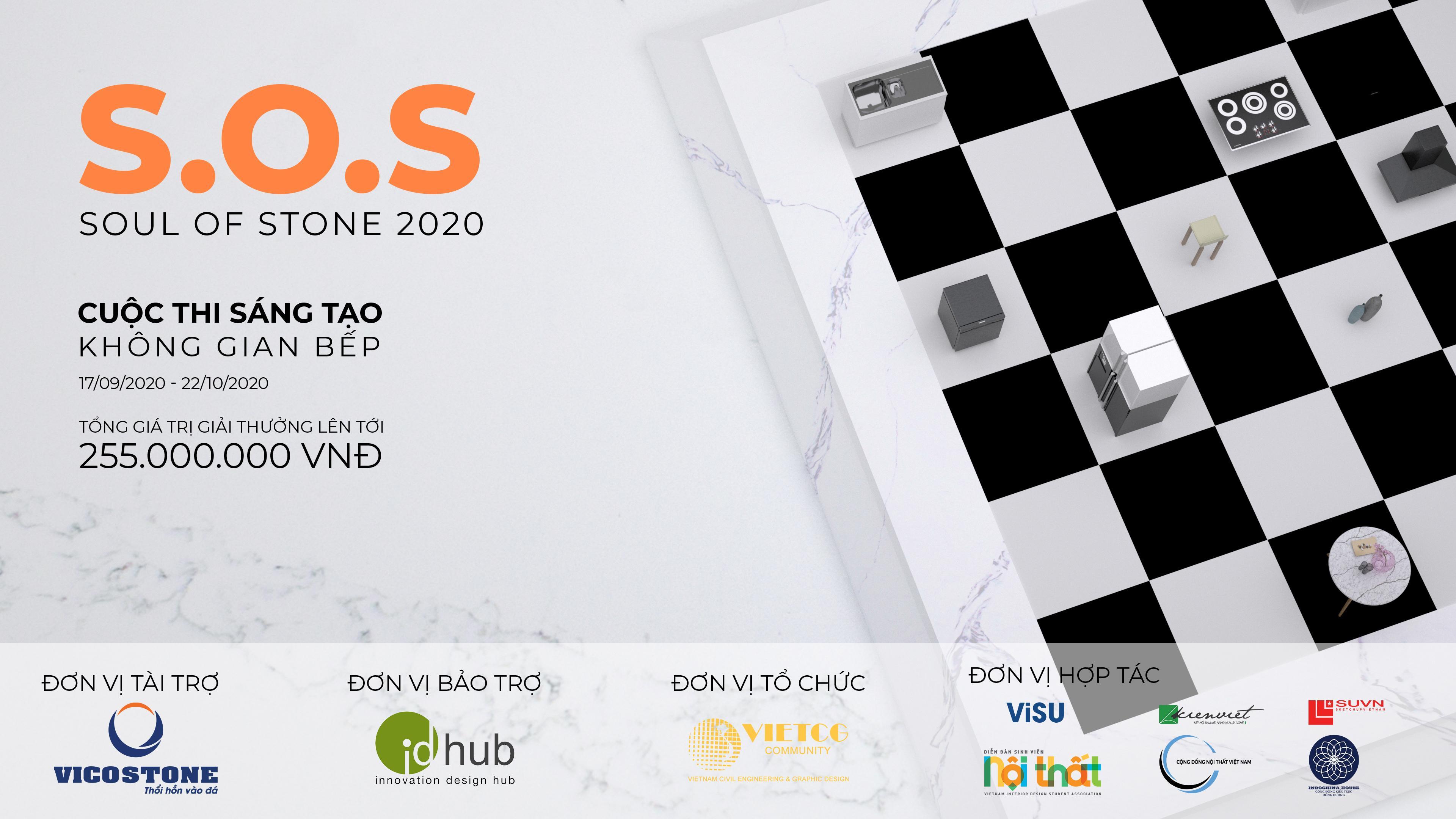 """Tôn vinh cảm hứng sáng tạo cùng cuộc thi thiết kế không gian bếp """"S.O.S 2020''"""