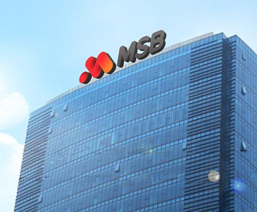 Lợi nhuận trên 1,660 tỷ sau 9 tháng, MSB vượt mục tiêu kế hoạch năm