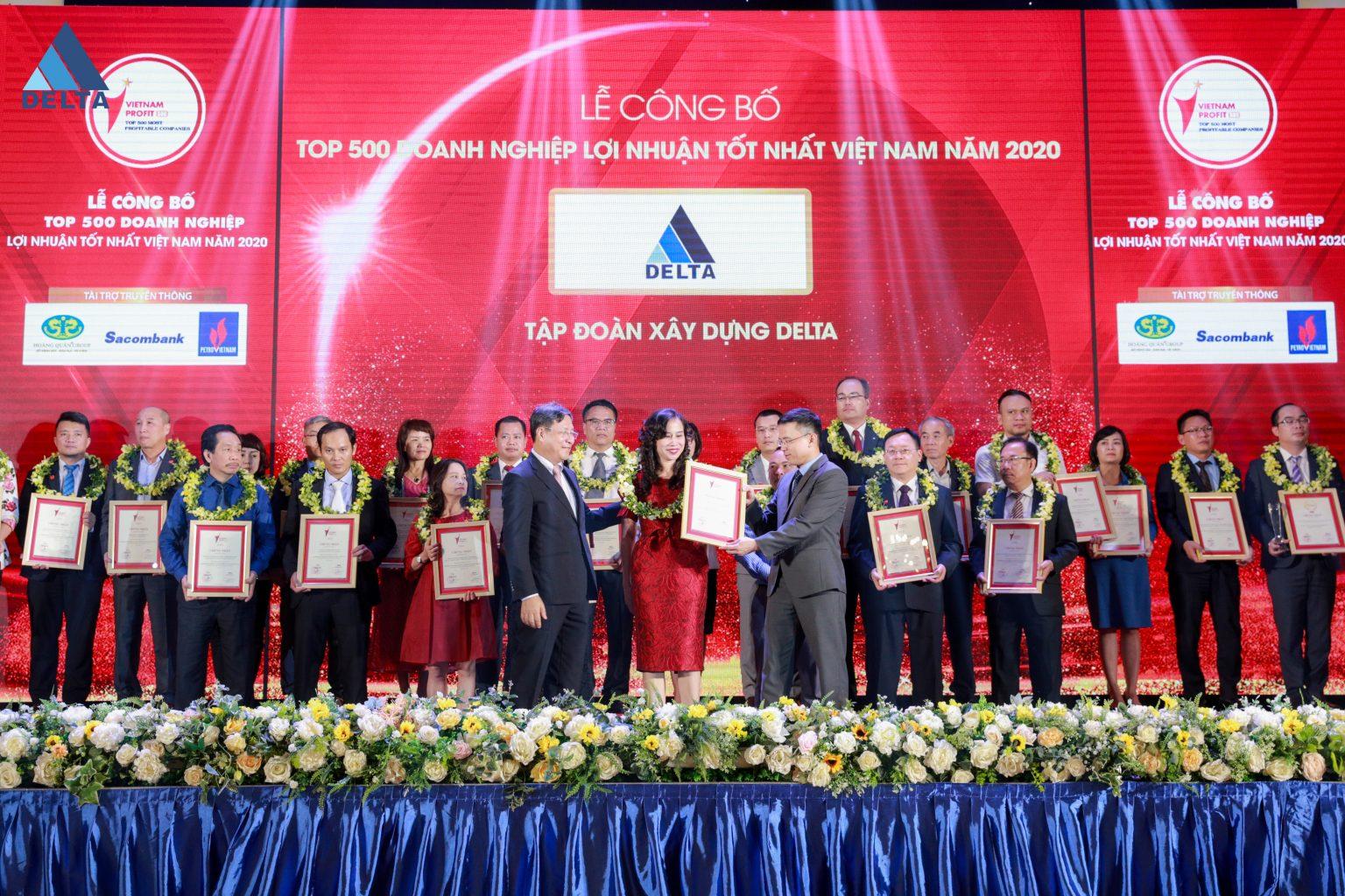 DELTA Group được vinh danh trong BXH PROFIT500