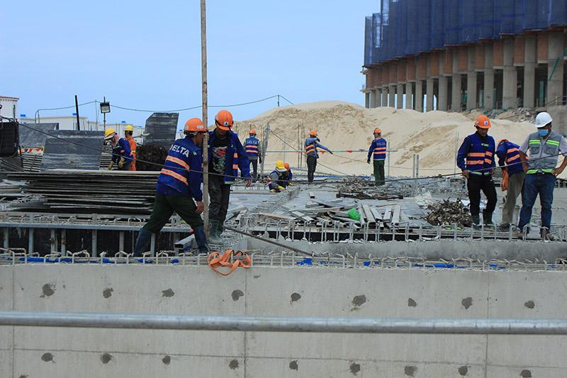 Nhà thầu DELTA Group áp dụng mô hình thi công công trình 5 sao tại The Arena