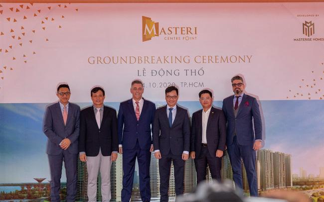 DELTA Group động thổ khởi công dự án Masteri Centre Point