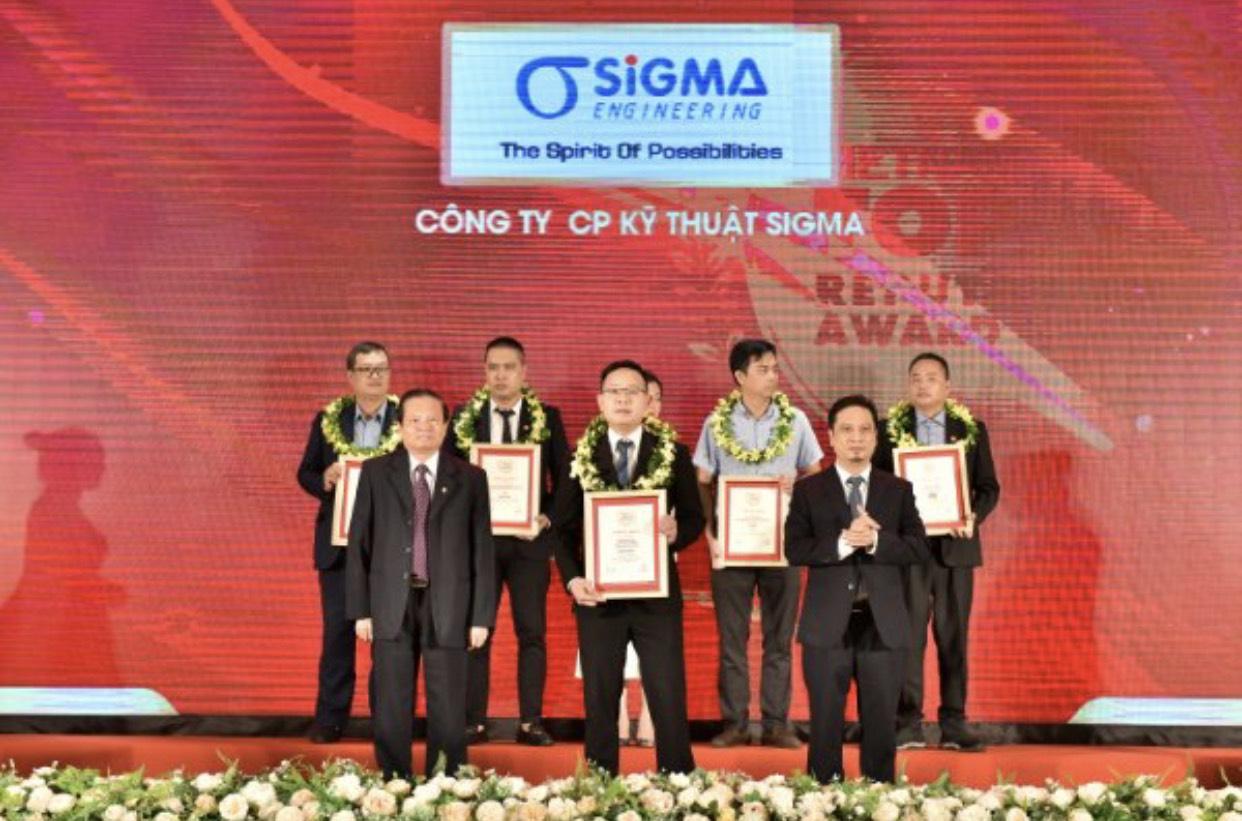 Sigma tham dự lễ vinh danh Top 5 Nhà thầu Cơ Điện Uy tín năm 2020