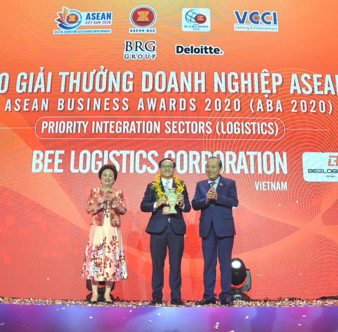 Bee Logistics nhận Giải thưởng Doanh nghiệp ASEAN lần thứ 2 liên tiếp