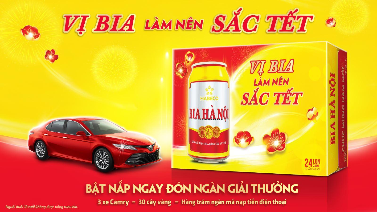 """Bia Hà Nội tưng bừng chương trình đặc biệt: """"Thấy Bia Hà Nội là thấy Tết - Vị bia làm nên sắc Tết"""""""