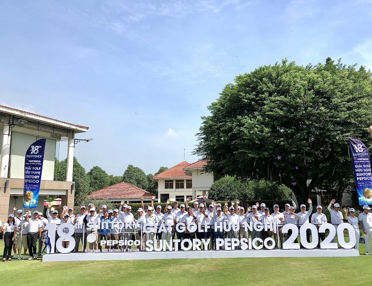 Giải golf Hữu Nghị Suntory PepsiCo gây quỹ gần 1.8 tỷ đồng cho bệnh nhi ung thư