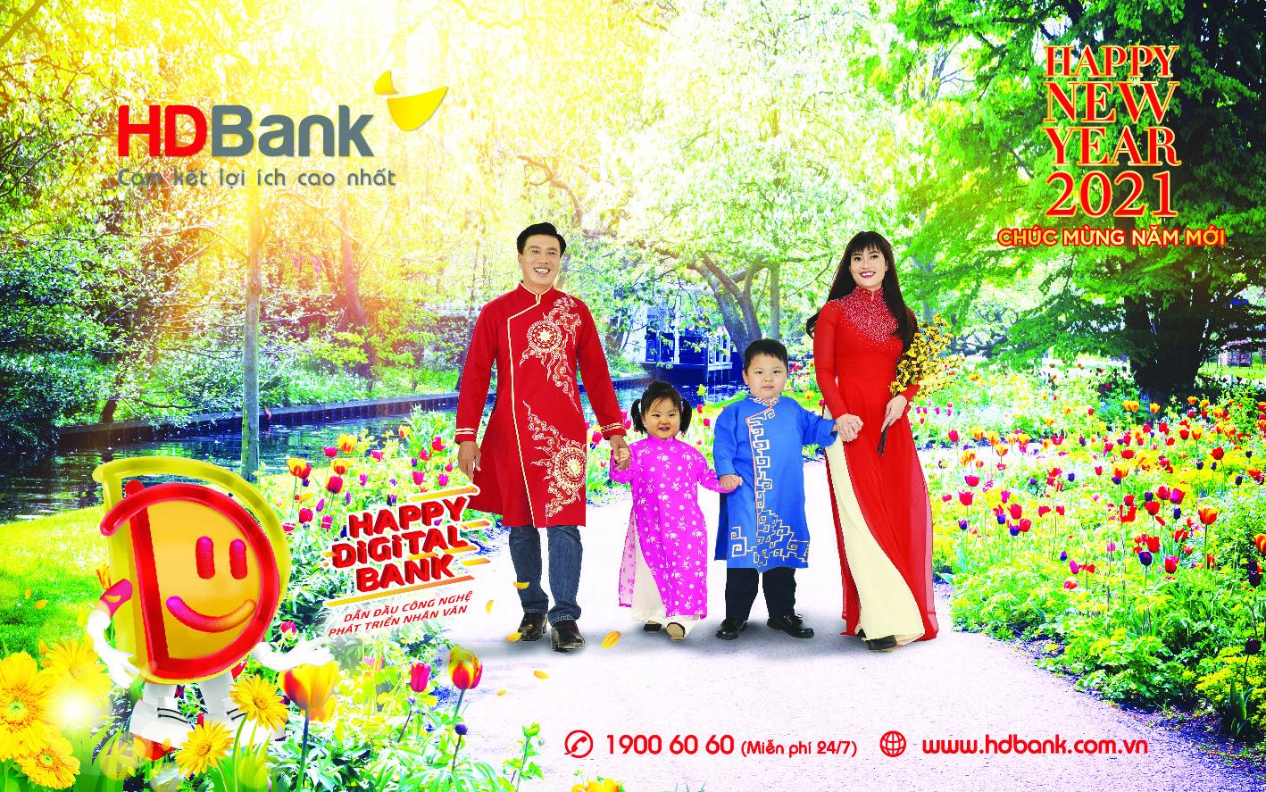 Đi cùng 12 mùa hoa đất nước qua lịch HDBank 2021