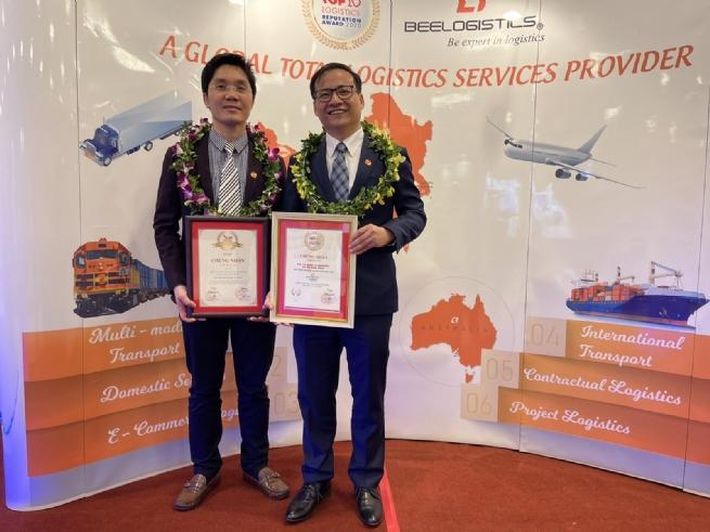 Bee Logistics đạt Top 10 Công ty Logistics uy tín & Top 500 Doanh nghiệp lớn nhất Việt Nam