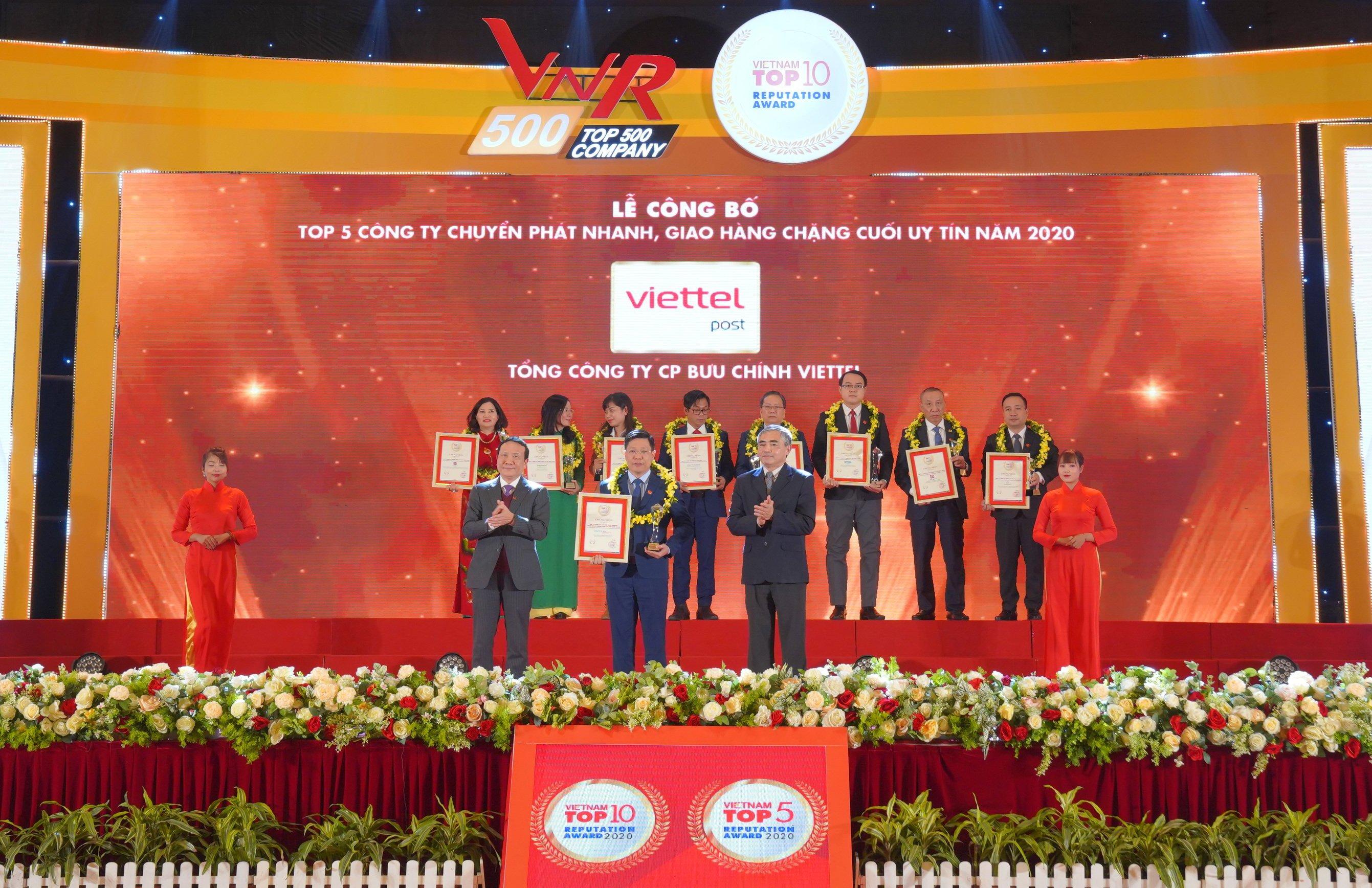 Điều gì giúp Viettel Post trở thành Top 1 công ty logistics uy tín – nhóm ngành chuyển phát hai năm liên tiếp?