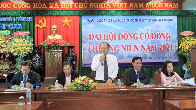 Bidiphar tổ chức thành công đại hội đồng cổ đông năm 2021