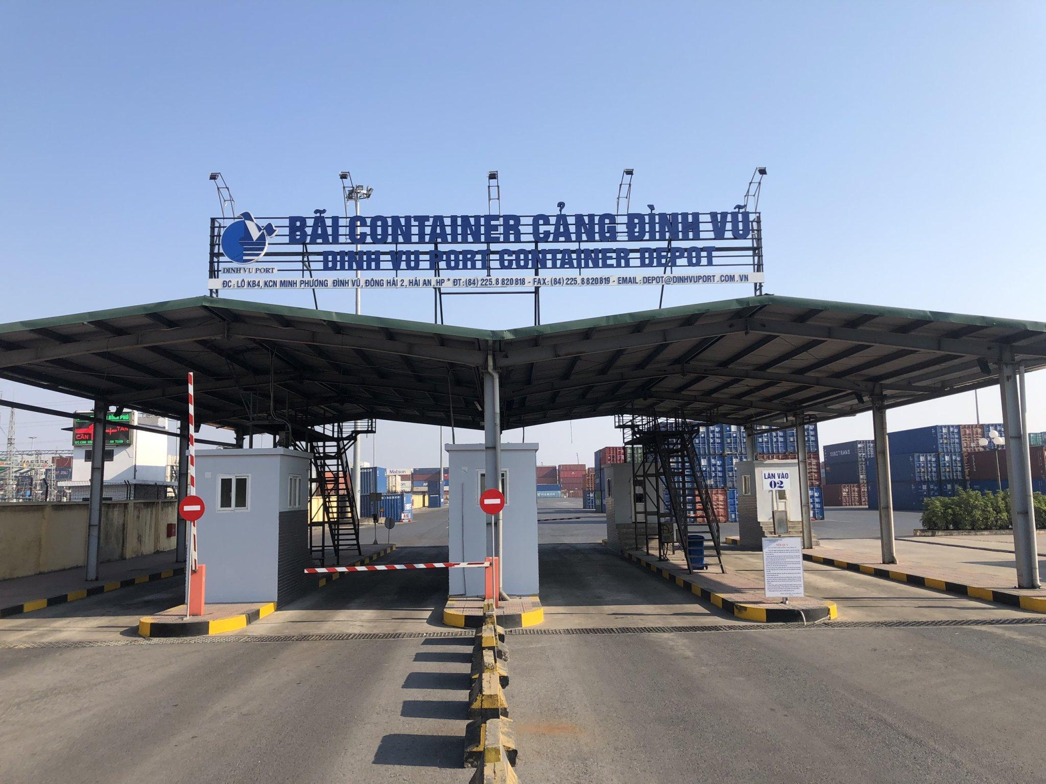 Bãi container 4,6 hecta tại KCN Minh Phương – Cánh tay nối dài của Cảng Đình Vũ
