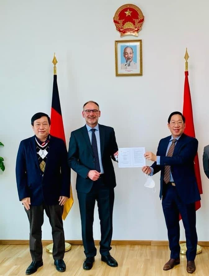Tham tán Thương mại Việt Nam tại Đức: Cuộc gặp giữa hai tập đoàn lớn Bamboo Capital và Siemens Energy