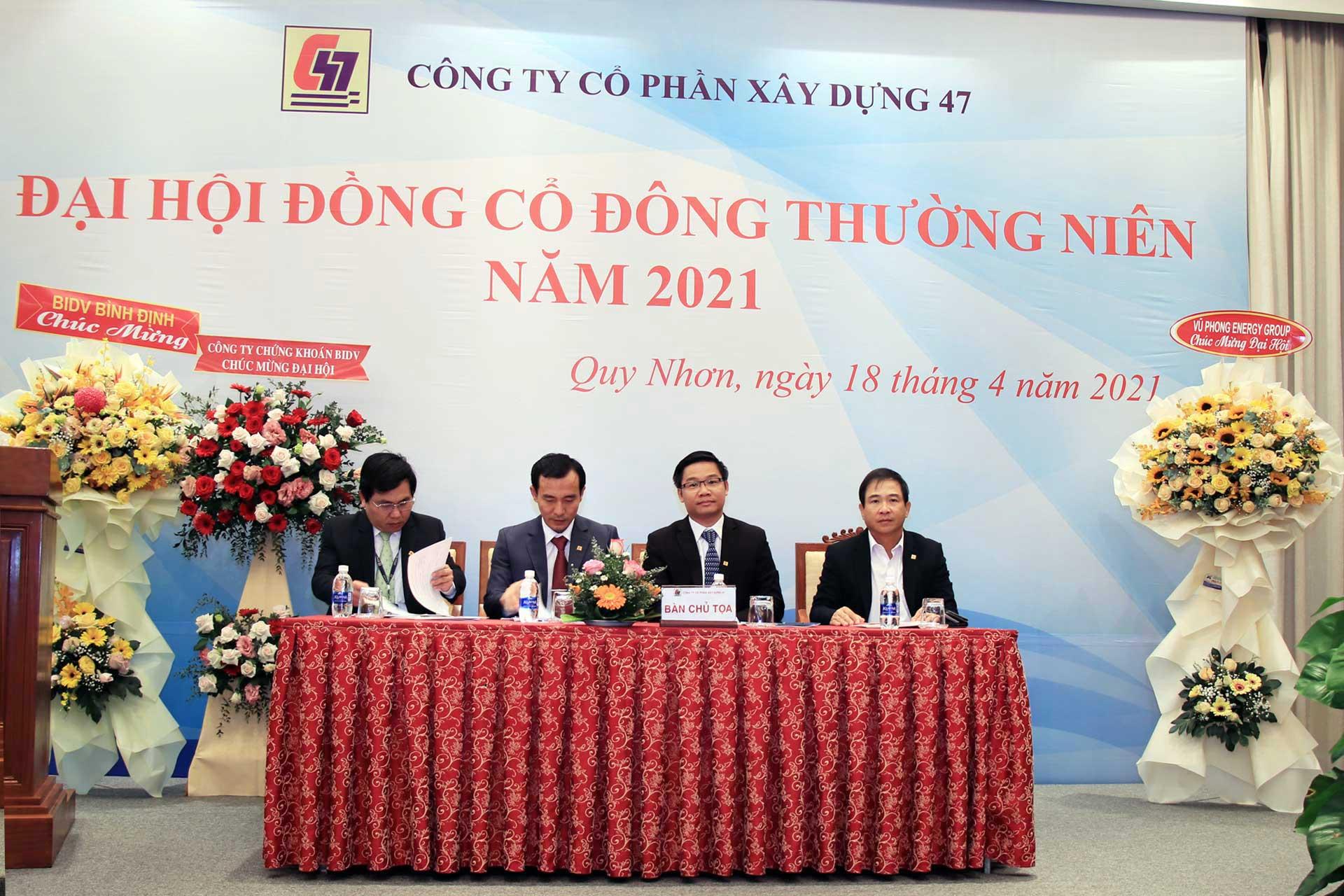 Đại hội đồng cổ đông thường niên năm 2021