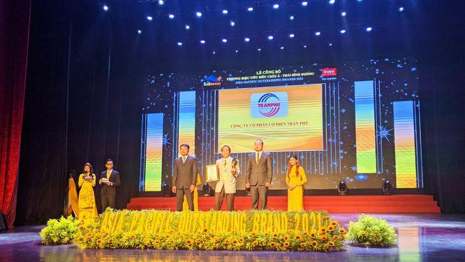 Trần Phú - Thương hiệu tiêu biểu Châu Á Thái Bình Dương 2021