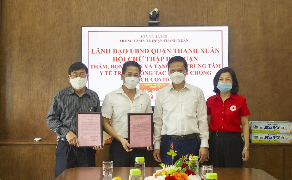CADI-SUN chung tay cùng TTYT Quận Thanh Xuân phòng dịch nCoV