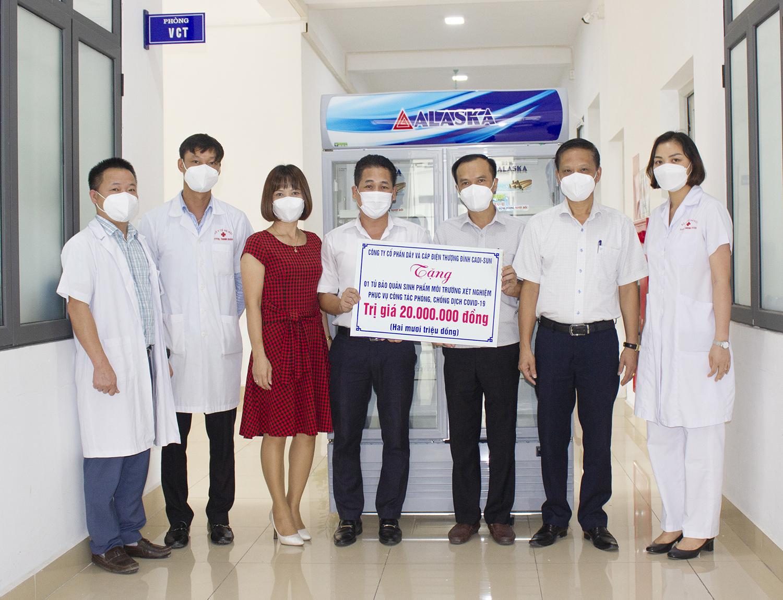 CADI-SUN tiếp sức cho các y bác sĩ nơi tuyến đầu chống dịch
