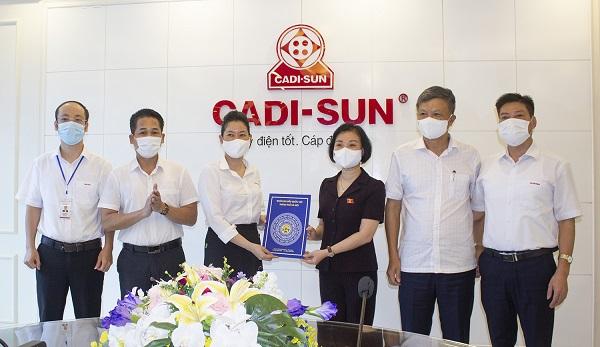 CADI-SUN duy trì sản xuất, tiền lương cho người lao động là nỗ lực rất lớn của doanh nghiệp