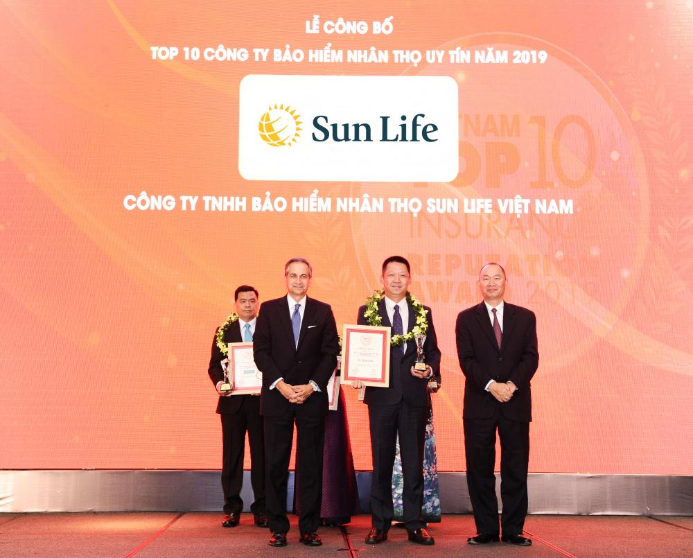 Sun Life Việt Nam - Top 10 Công ty Bảo hiểm nhân thọ uy tín nhất Việt Nam năm 2019