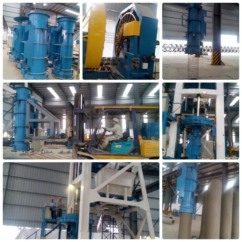 Minh Đức đưa dây chuyền sản xuất ống cống vào hoạt động