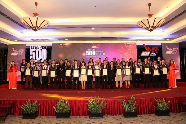 Công bố BXH VNR500 - Top 500 Doanh nghiệp lớn Việt Nam năm 2016