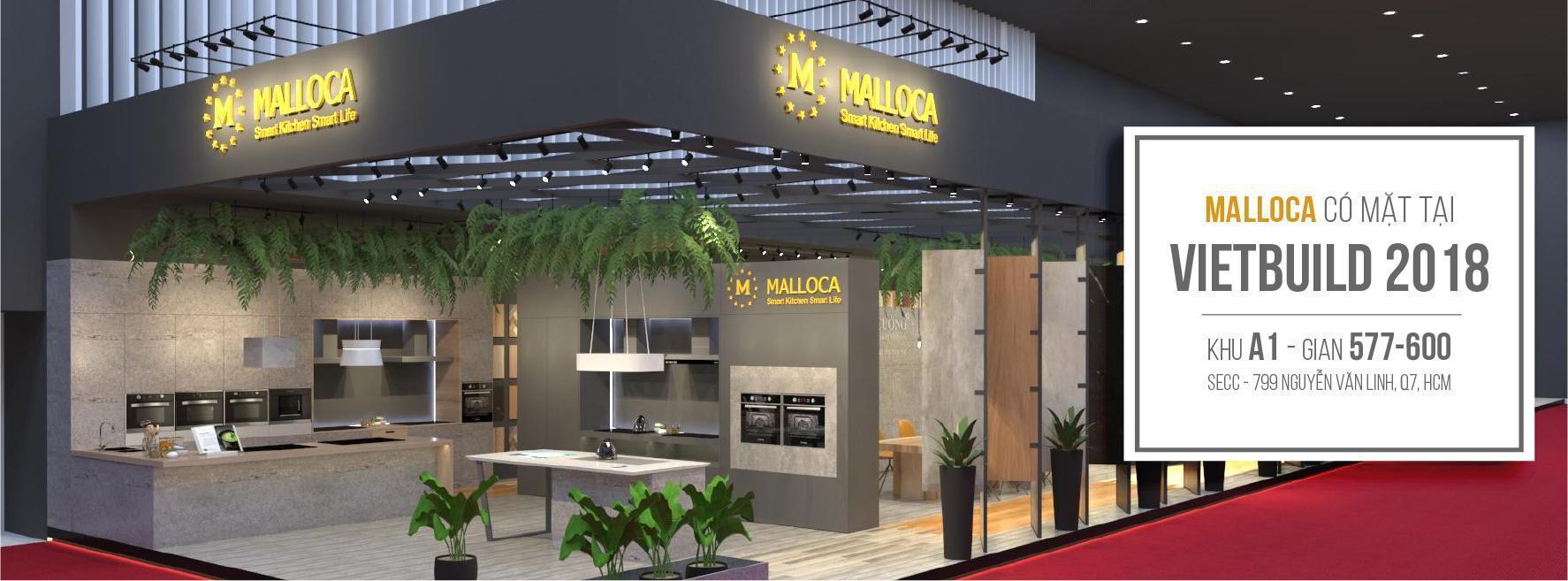 """Malloca mang """"Công nghệ tích hợp thông minh 4.0"""" vào triển lãm Vietbuild HCM 2018"""