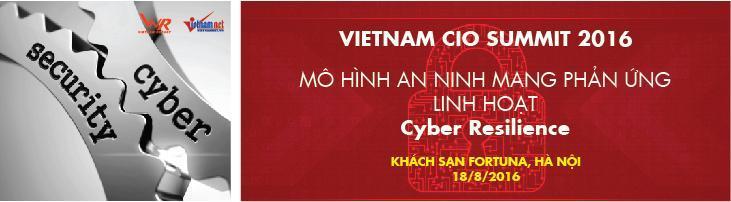 VIETNAM CIO SUMMIT 2016