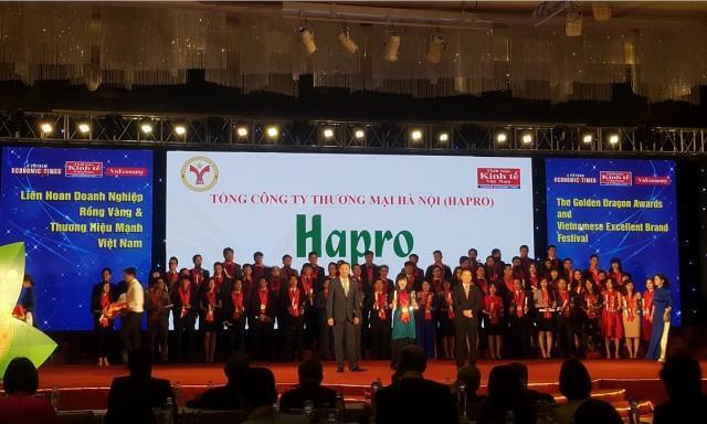 Liên hoan các Doanh nghiệp Rồng Vàng và Thương hiệu mạnh Việt Nam