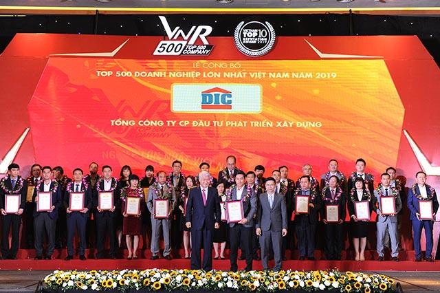 Tập đoàn DIC lọt Top 20 doanh nghiệp bất động sản lớn nhất Việt Nam 2019
