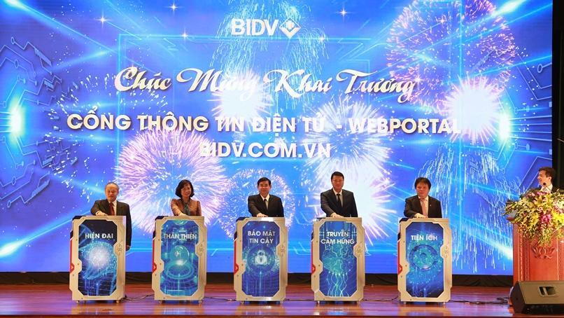BIDV khai trương Cổng thông tin điện tử bidv.com.vn