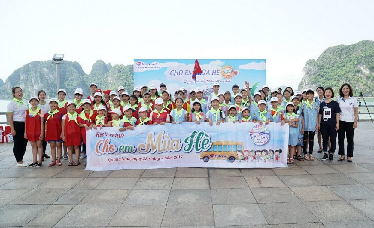 """Vietravel Quảng Ninh """"cho em mùa hè"""" không đợi chờ"""