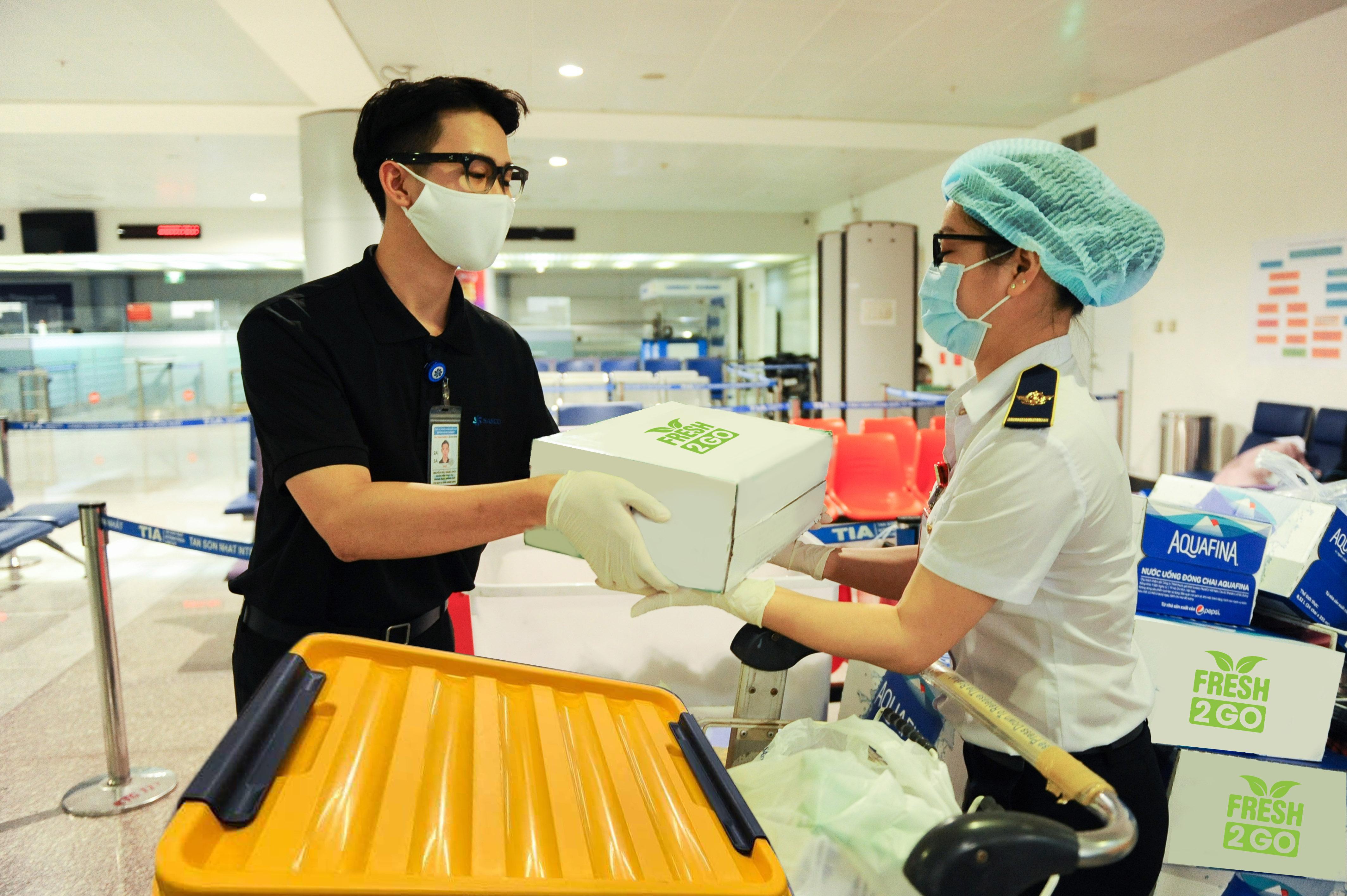 Trung tâm dịch vụ chuyến bay SASCO góp sức cùng tuyến đầu chống dịch Covid-19