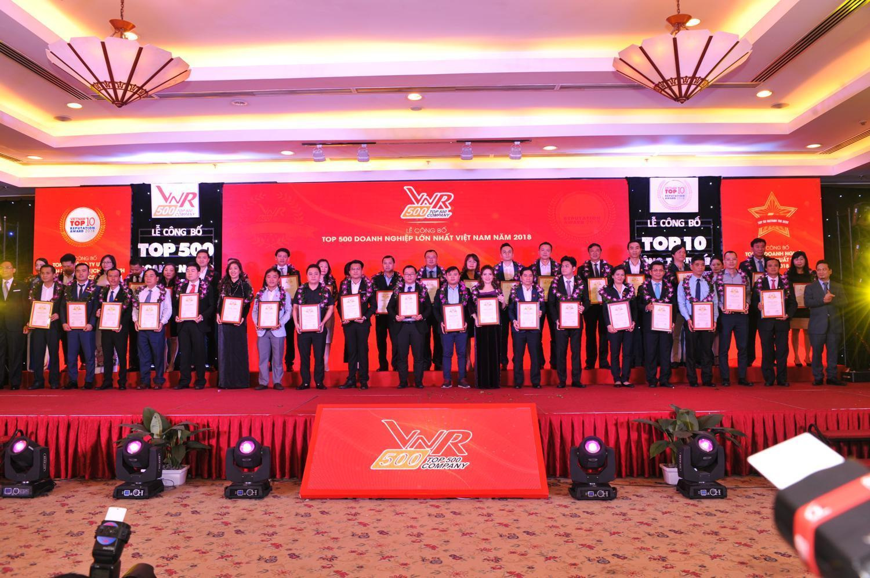 Eurowindow tiếp tục được vinh danh trong Top 500 doanh nghiệp lớn nhất Việt Nam