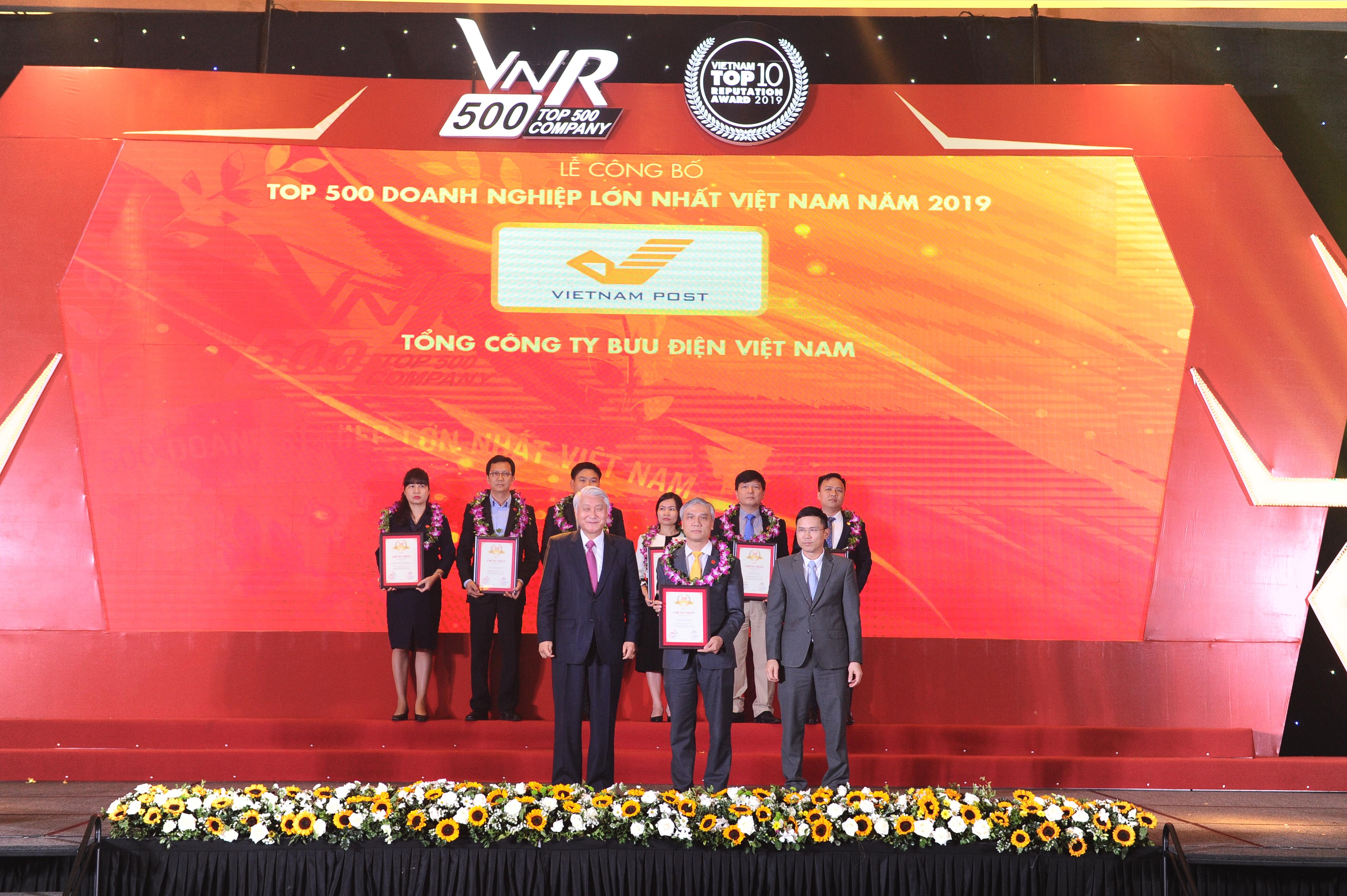 Bưu điện Việt Nam thắng lớn tại sự kiện Lễ công bố VNR500