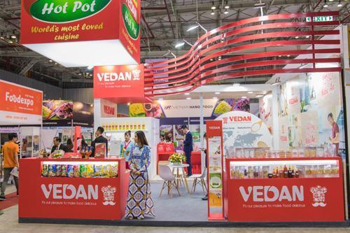 Vedan triển lãm sản phẩm mới tại Vietnam Foodexpo 2018