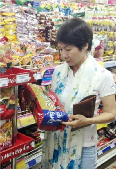 Nhãn hàng mì gói 3 Miền giữ 26,5% thị phần mì gói Việt