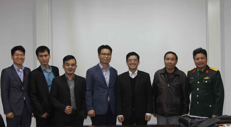 Tổng Công ty 36 làm việc với đại diện Công ty Lotte C&E Hàn Quốc