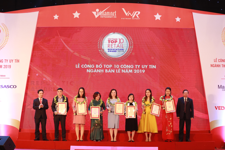 MediaMart giữ vững vị trí trong Top 10 nhà bán lẻ uy tín nhất Việt Nam 2019